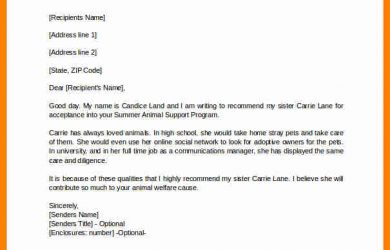 how to write a personal letter of recommendation how to write a personal letter of recommendation personal letter of recommendation for college