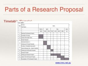 how to write a progress report research proposal writing