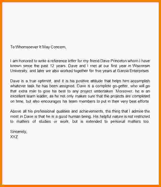 How To Write A Recommendation Letter | Template Business