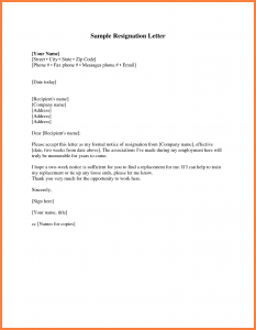 how to write a two week notice how to write a 2 week notice letter cover letter 15 sample two weeks notice verification letters pdf how to write a week resignation