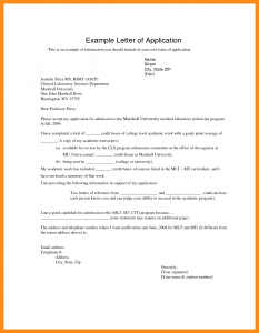 how to write an application letter how to write an application letter for university how to write a application letter for university example of university application letter