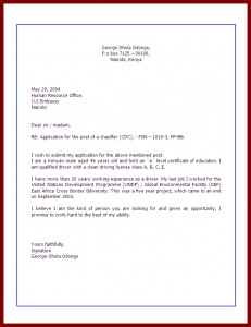 how to write an application letter how to write application letters job application letter example