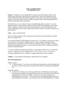 how to write an informative essay informative essay unit assignment page
