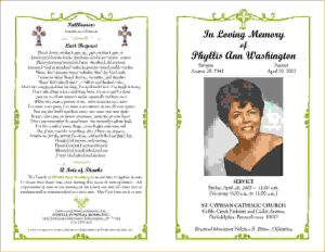 how to write an obituary for mother funeral programs examples orig
