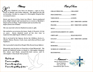 how to write an obituary sample obituary template free