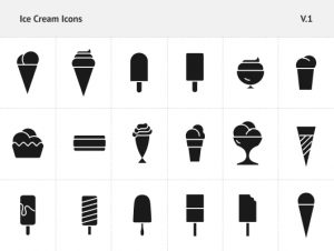 ice cream logos ice cream icons