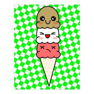 ice cream templates kawaii ice cream customized letterhead rabdbadbaaad vgg byvr