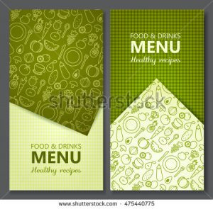 ice cream templates stock vector menu card design templates vector illustration
