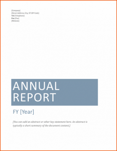 incident report template word microsoft word report templates annual financial report template