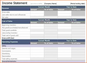 income statement excel income statement template excel excel income statement template x
