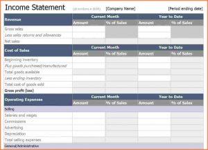 income statement excel income statement template excel excel income statement template x