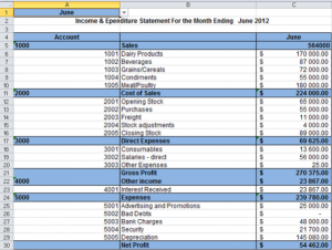 income statement excel monthly rent statement template x