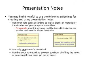 index cards sizes presentation notecards