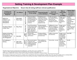 individual development plan examples ddaabefeecd advanced nursing primary care