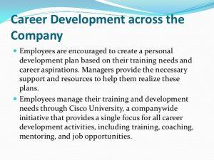 individual development plans sample cisco career development