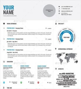 infographic resume template infographic resume templates free sample example format intended for infographic resume template