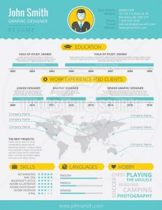 infographic resume template infographic resume letter resize