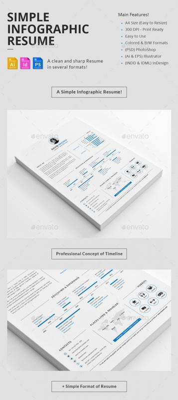 Infographic Resume Template | Template Business