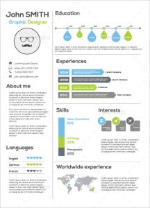infographic resume template infographic resume template for graphic