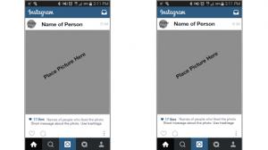 instagram post template instagram