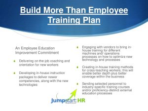 instruction manual example how to develop an employee development plan