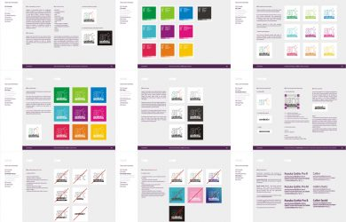 instruction manual template cerebral art advertising agency branding manual design by alex tass