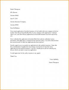 insurance appeal letter insurance appeal letter