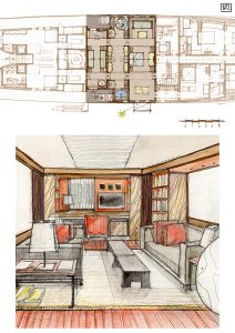 interior design templates interior design illustrations boat