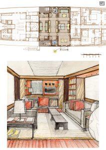 interior design templates interior design illustrations boat