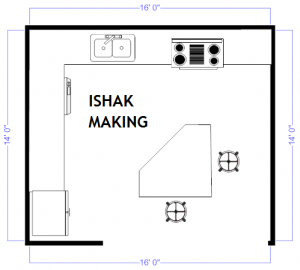 interior design templates kitchen plan example island