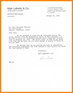 intern offer letter letter for internship in a company internshipofferletter mainlafrentz