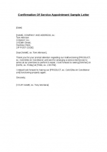 interview confirmation email confirmation interview appointment sample letter