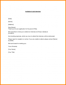 interview request email reply to interview invitation email example