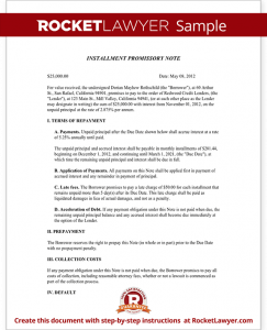 interview schedule template sample promissory note with installment payments form template