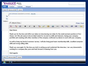 interview thank you email email thank you note after interview 1