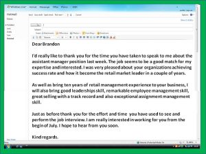 interview thank you email interview thank you note email 1
