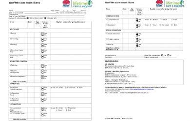 inventory sheet pdf escalas e instrumentos de valoracion en discapacidad infantil