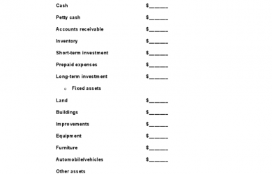 inventory sheet template blank balance sheet example l