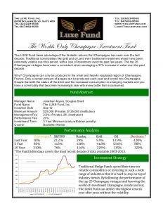 investment agreement template luxe one pager pdf