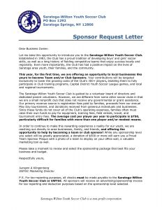 investment proposal template format of a sponsorship letter how to write a letter requesting