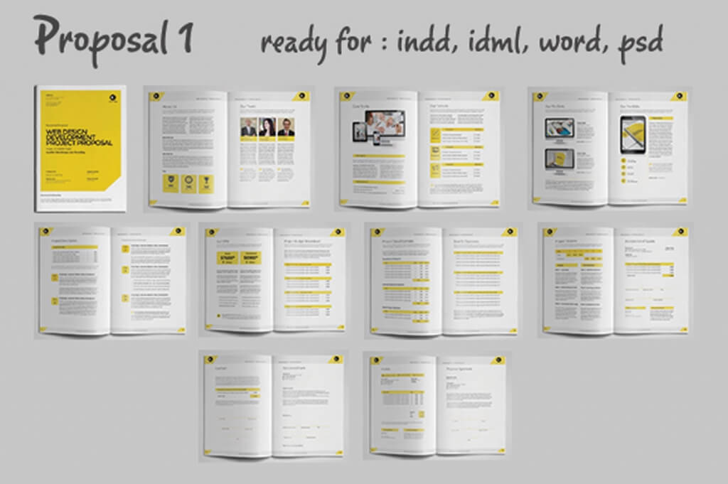 Web Proposal Template Idealstalist