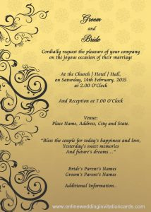 invitation cards template eccaacaccaea invitation card design wedding invitation design