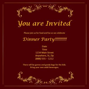 invitation templates word invitation template