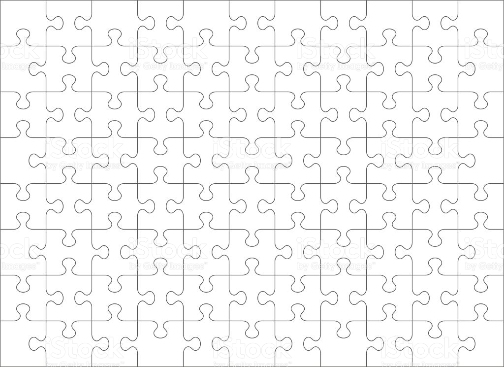 Jig Saw Puzzle Template  Template Business