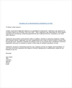 job acceptance letter from employer professional job recommendation letter