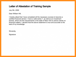 job application email template photo attestation format letter of attestation of training sample