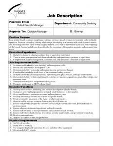job description template word job description template