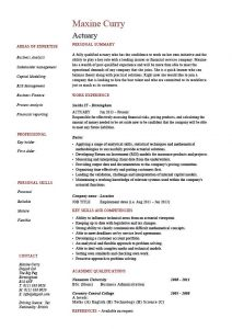 job description templates pic actuary resume template