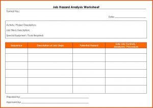 job hazard analysis form job hazard analysis form job hazard analysis worksheet
