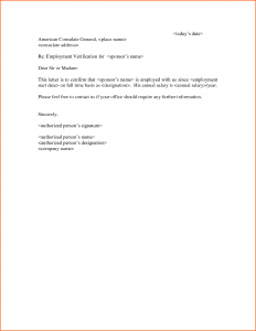 job letter sample employment verification letter template